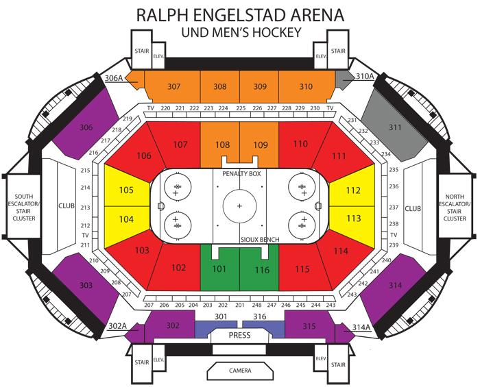 Nchc playoffs first round ralph engelstad arena